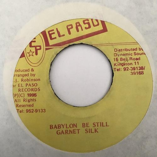 Garnet Silk – Babylon Be Still
