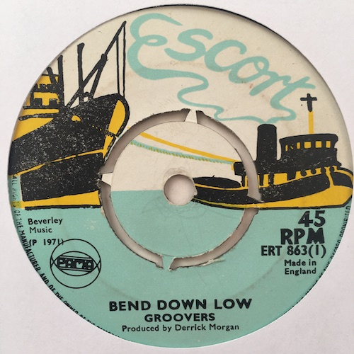 Groovers – Bend Down Low / The Burning Feeling