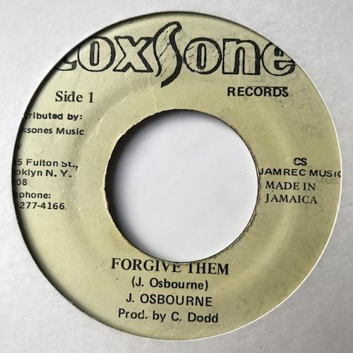 J. Osbourne – Forgive Them
