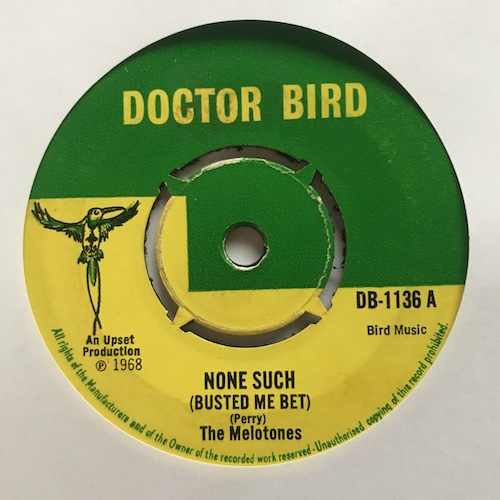The Melotones / Val Bennett – None Such (Busted Me Bet)  / Popeye on Shore