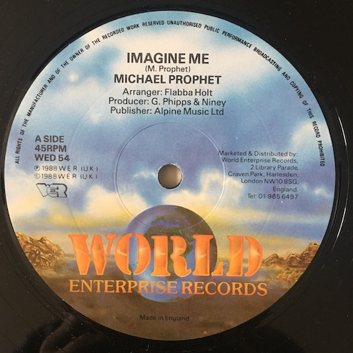 Michael Prophet – Imagine Me