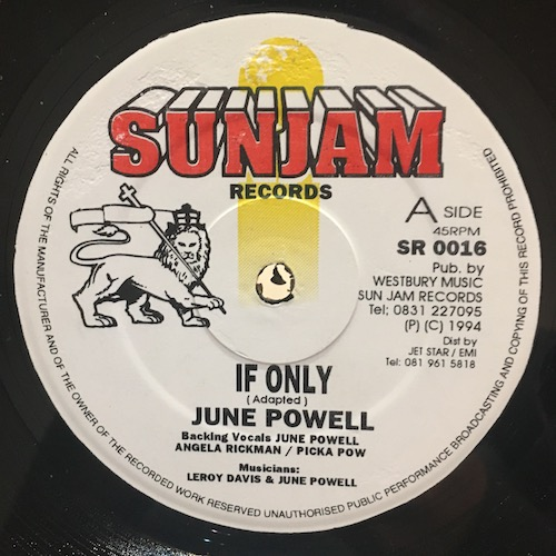 June Powell – If Only / Got To Find A Way