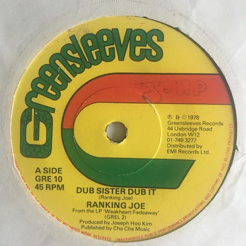 Ranking Joe – Dub Sister Dub It