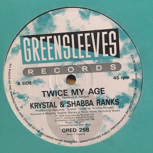 Krystal & Shabba Ranks – Twice My Age