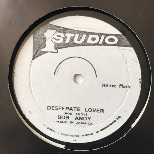 Bob Andy / Johnny Osbourne & Brentford All Stars – Desperate Lover / After The Rain