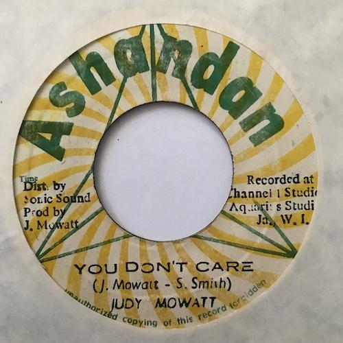 Judy Mowatt – You Don't Care