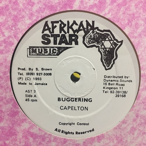 Capelton – Buggering