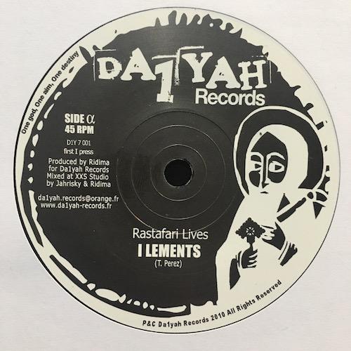I-Lements – Rastafari Lives