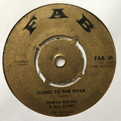 Prince Buster All Stars – Going To The River