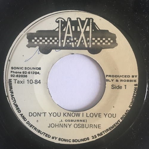 Johnny Osburne – Don't You Know I Love You