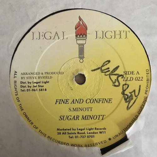 Sugar Minott / Tony Tuff – Fine And Confine / Newsflash