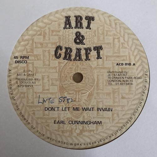 Earl Cunningham – Don't Let Me Wait In Vain