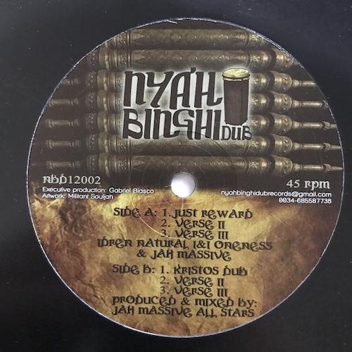 Idren Natural, InI Oneness & Jah Massive – Just Reward / Kristos Dub