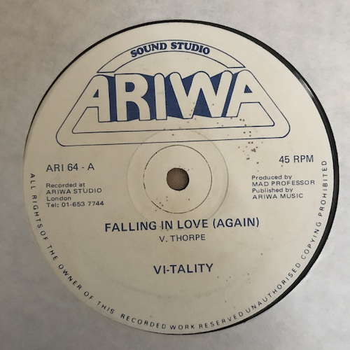 Vi-tality / Robotics – Falling In Love (Again) / Aztec Warrior