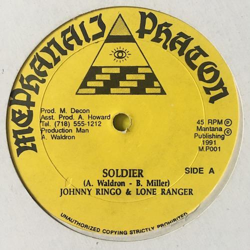 Johnny Ringo, Lone Ranger – Soldier