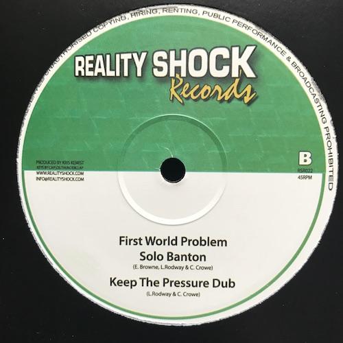 Errol Dunkley / Daddy Freddy / Solo Banton – Keep The Pressure Down