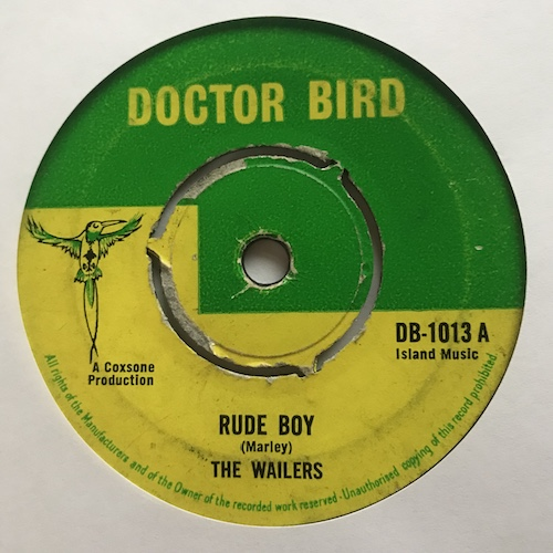 The Wailers / Rolando Al And The Soul Brothers – Rude Boy / Ringo's Theme