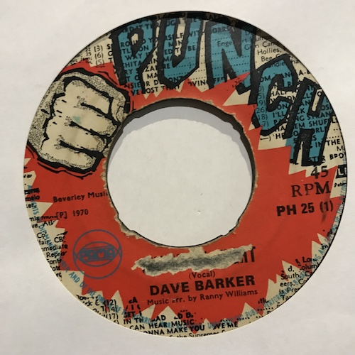 Dave Barker – Shock Of Might