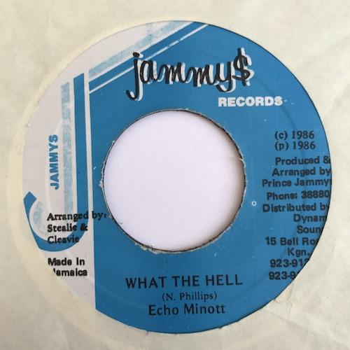 Echo Minott – What The Hell