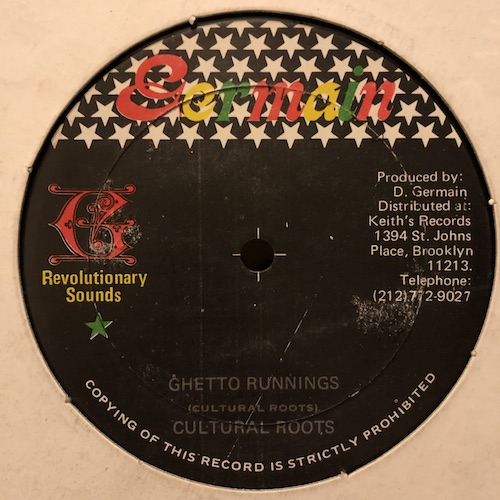 Cultural Roots - Ghetto Runnings